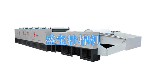 1390 cotton waste recycling machine